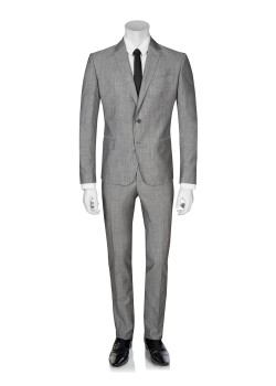 Pierre Balmain suit slim fit light grey