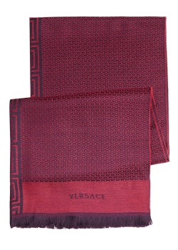 Versace scarf, 200x70cm, red