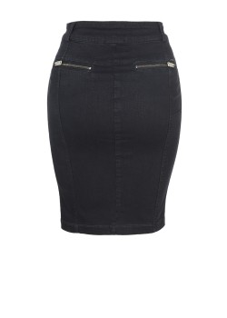 DIESEL O-Betta Gonna skirt black