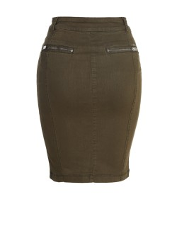 DIESEL O-Betta Gonna skirt 00STBZ-0GAMV olive