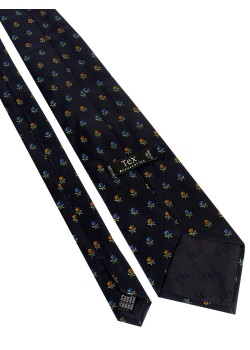 TEX Accessories tie dark blue