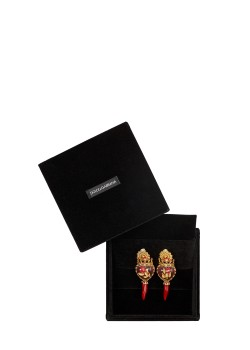 Dolce & Gabbana earrings gold