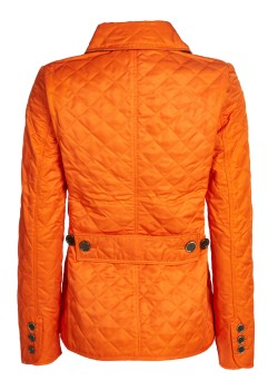 Burberry Brit quilted jacket orange