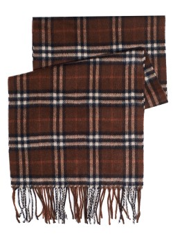 Burberry scarf made of camel hair brown