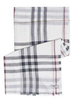 Burberry scarf offwhite