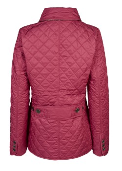 Burberry Brit quilted jacket pink-red