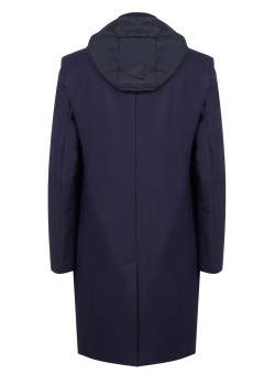 Bikkembergs coat dark blue