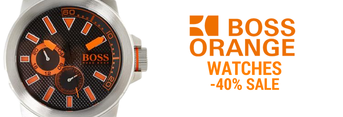 Orange Hugo Boss Watches