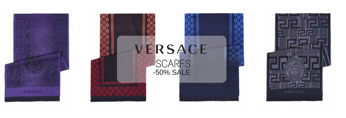 VERSACE SCARFS SHOPPING CLUB